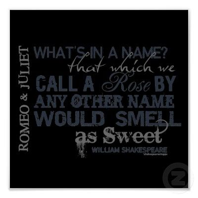 whats in a name quote