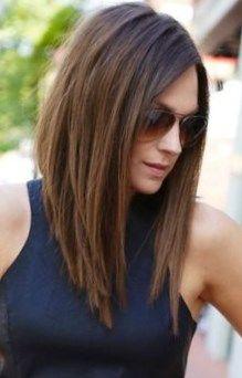 Résultats de recherche d'images pour « carré plongeant long »   Cheveux, Style de cheveux ...