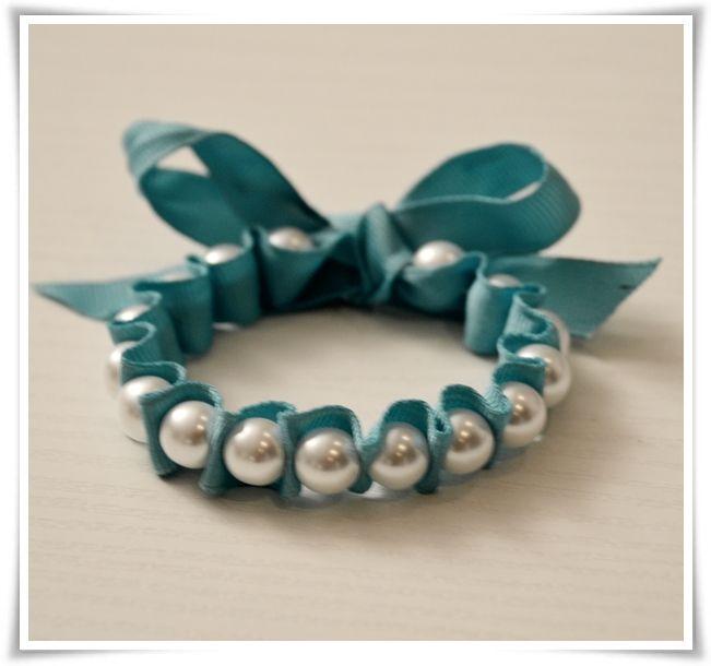 {Fabelaktig} DIY pearl bracelet