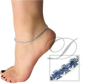 Crystal Stretch Anklets
