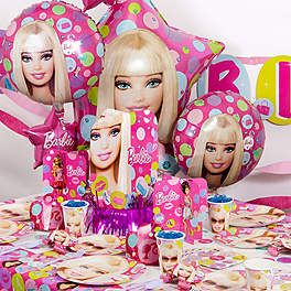 BARBIE PARTY ULTIMATE KIT Serves 8 guests $49.99