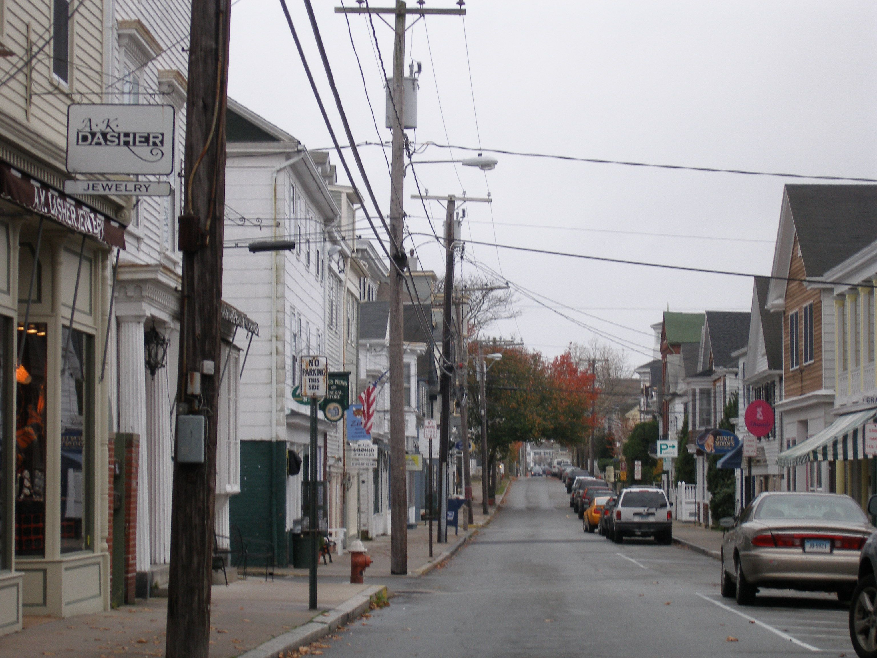 Stonington, Connecticut - A K  Dasher, BEST jewelry store