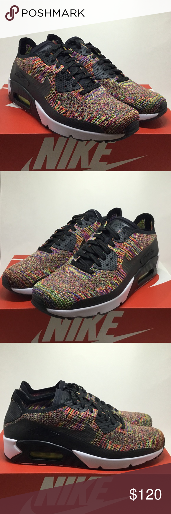 Nike Air Max 90 Ultra Flyknit Multicolor 2.0 875943 002