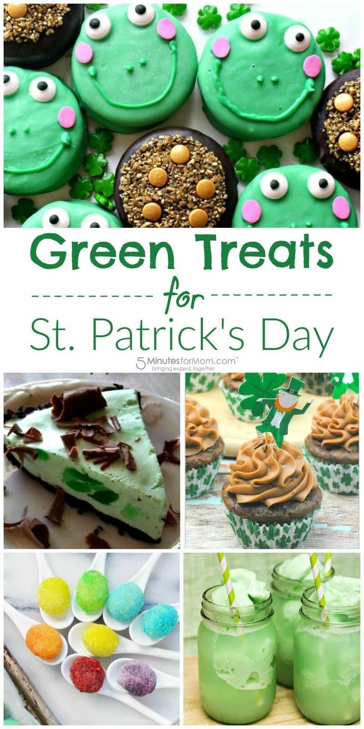 best green food for st patrick's day