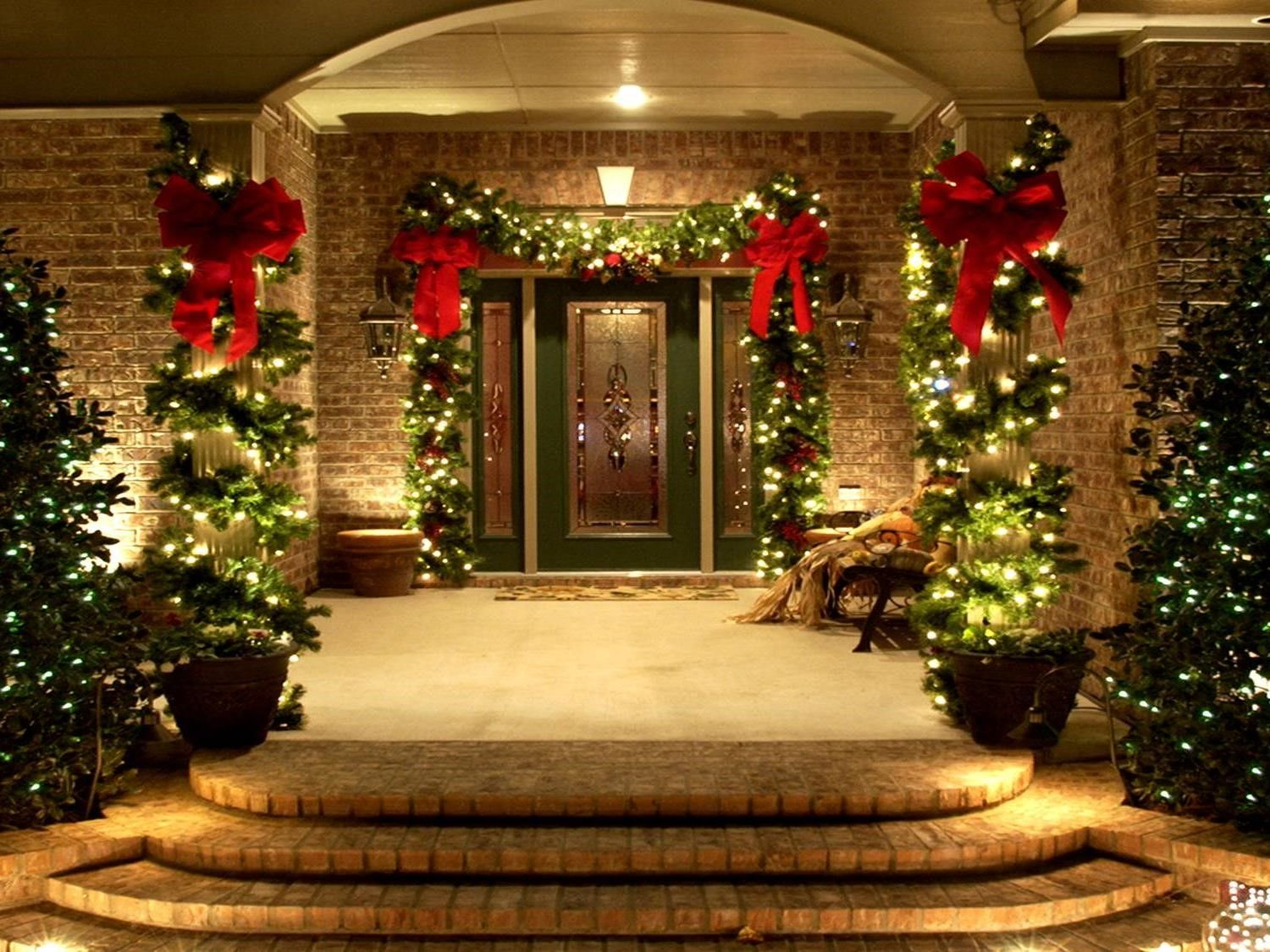 elegant outdoor christmas decorations ideas yurganet - Elegant Outdoor Christmas Decorations