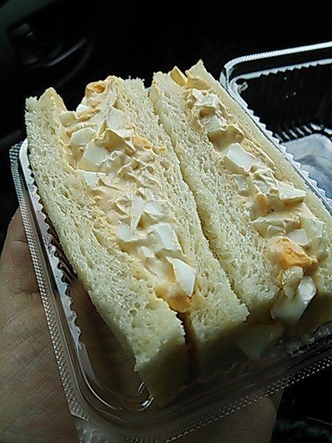 パンの店ジョコンダの たまごサンド がうまい たまごサンド