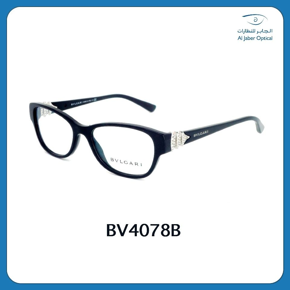 Fall In Love With Bvlgari 4078b Frame With Its Chic And Casual Style Bvlgari Casual Style Prescription Eyeglasses