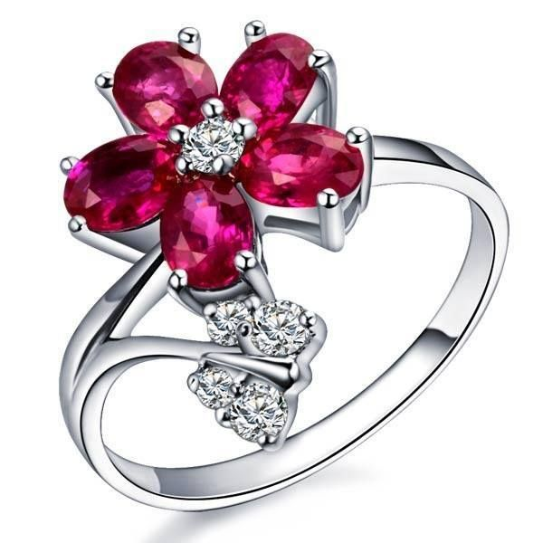 Engagement Ring With Rubin Dream Things To Have Pinterest