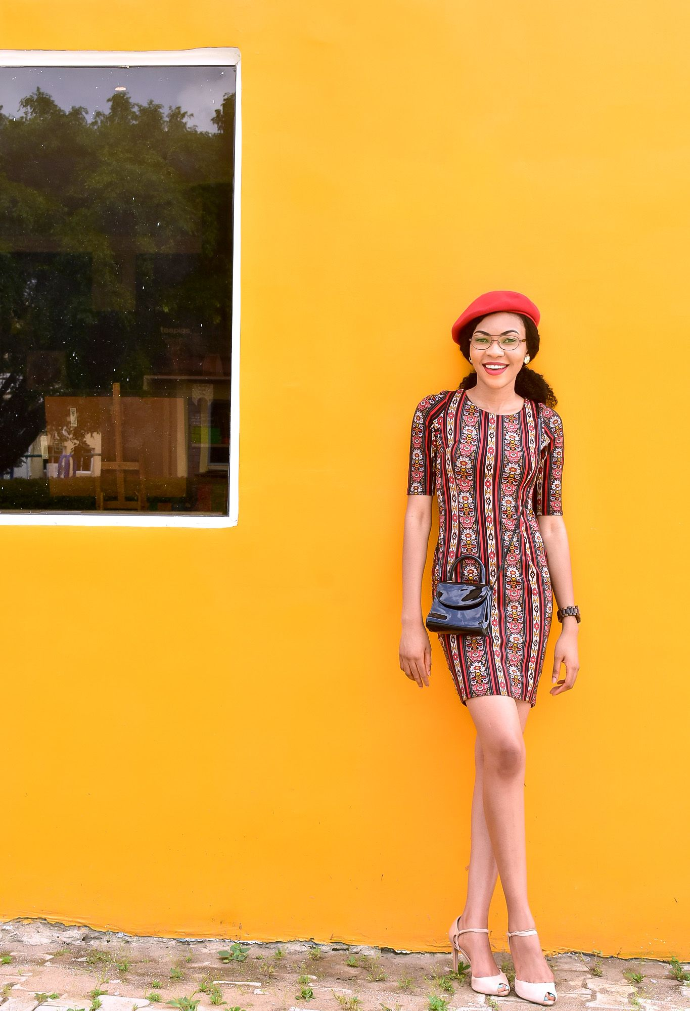 How To Wear A Beret In Summer  Wearing Beret With Nigerian Weather ... a8d8d97f2c1