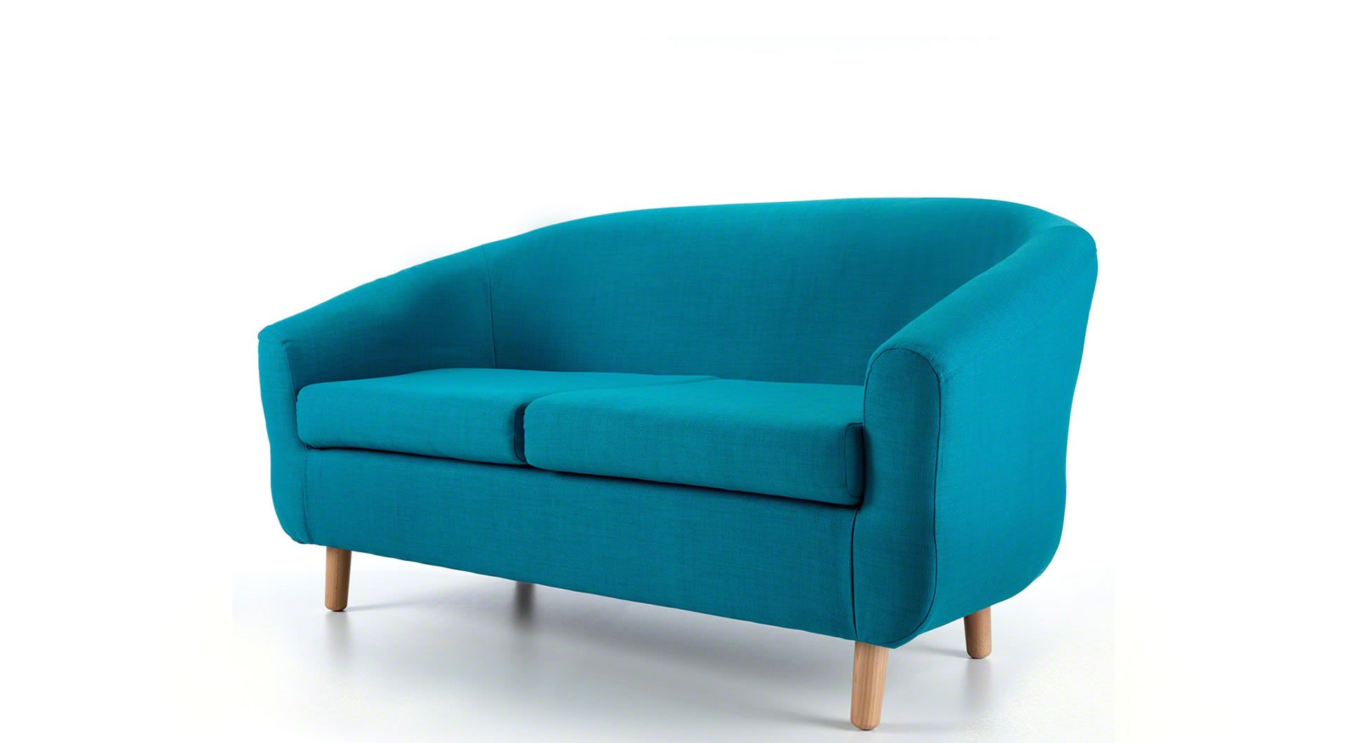 Swell Bombay 2 Seater Tub Sofa Teal Furniture Teal Sofa Bralicious Painted Fabric Chair Ideas Braliciousco