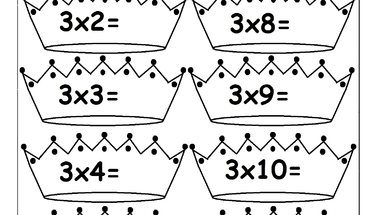 Multiplication Times Tables Worksheets