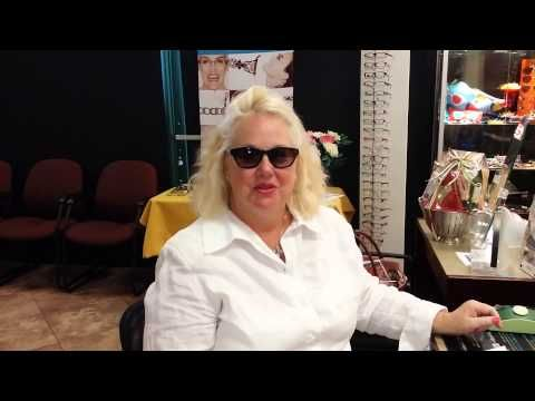 our patient of 20 years loves a new line of mattisse eyewear that we