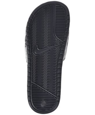 f0687ad3369e Nike Men s Benassi Jdi Print Slide Sandals from Finish Line - Gray ...