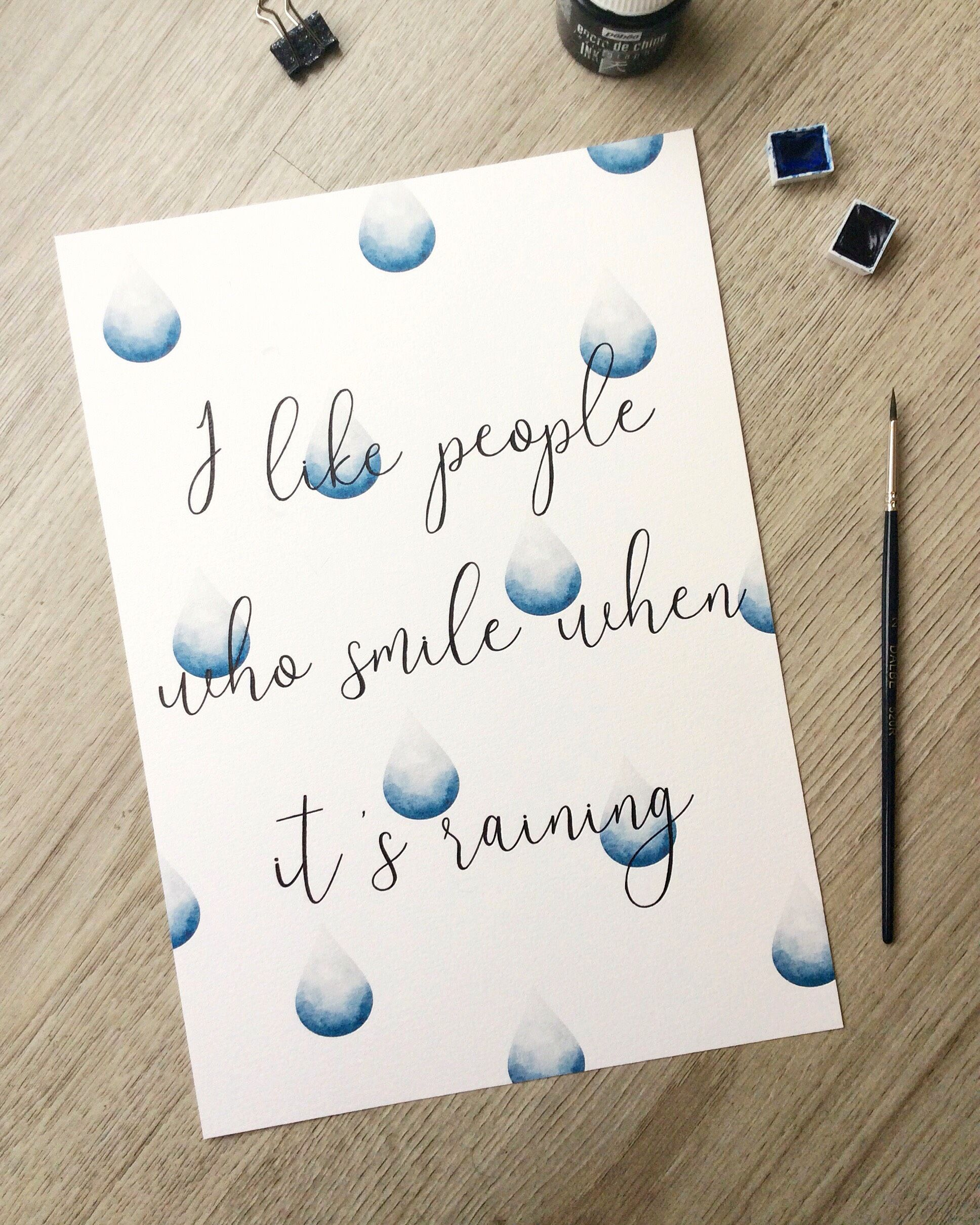 Watercolor Quote Print From My Etsy Shop Studioemikostore On
