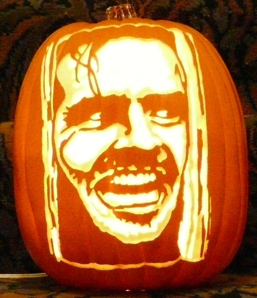 jack torrence pattern by stoneykins com i carved on a foam pumpkin rh pinterest com jack nicholson pumpkin stencil