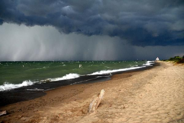 Beach And Ocean Storm: Experience The Winds On The Ocean