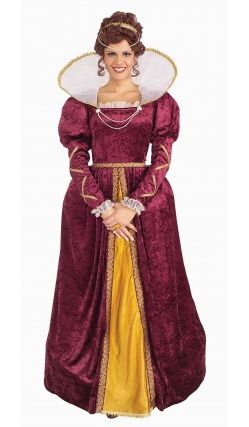 Costume de Reine Elizabeth