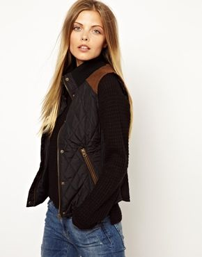 Image 1 ofVero Moda Quilted Gilet Jacket