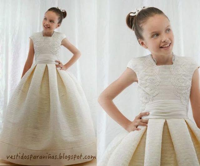 809b16b4d212c4 vestidos de gala color champan para niñas de 7 años - Google Search ...