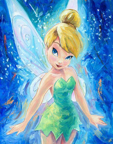 Tinkerbell #disney #art http://www.keypcreative.com/