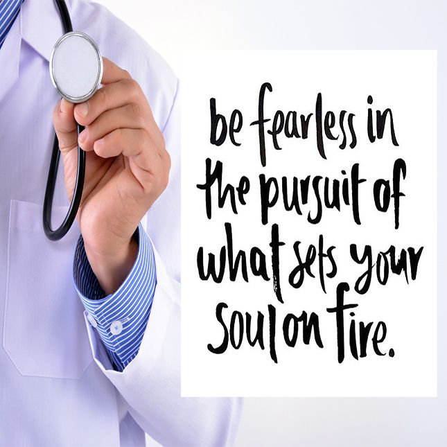 Go After Your Dreams! Be Fearless! #motivation #premed
