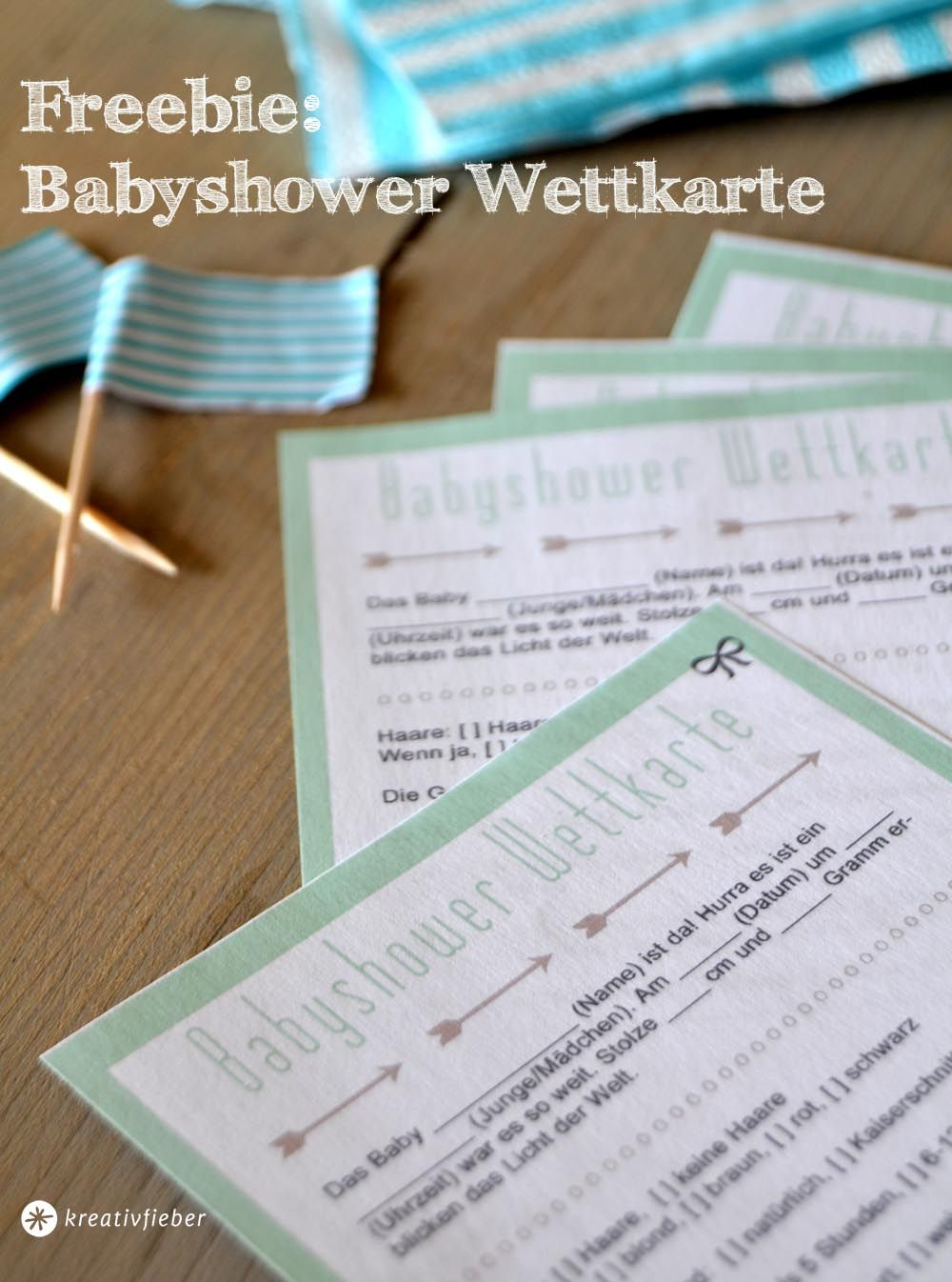 Babyshower Printable Ein Babyshower Wettspiel Zum Downloa