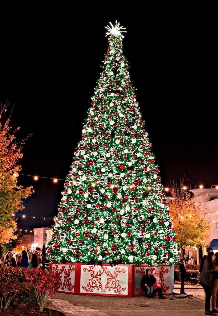 Bridge Street Madison Alabama (With images) | Christmas lights, Holiday decor, Christmas tree