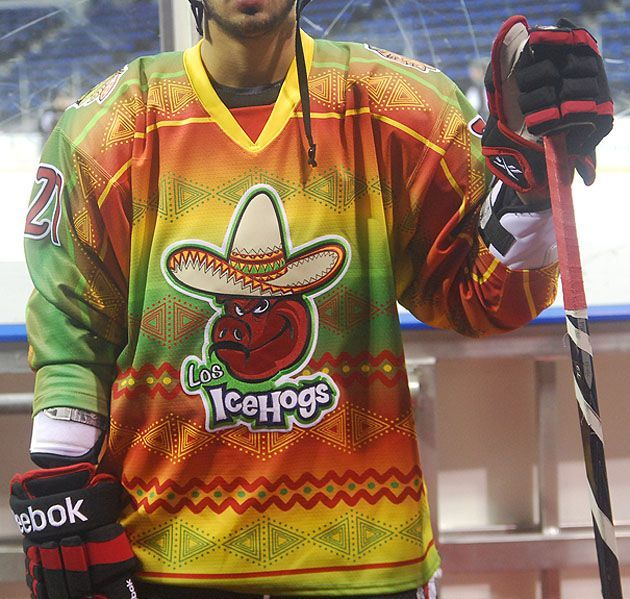 6ad47417071 Image result for cool minor league hockey jerseys | cool hockey ...