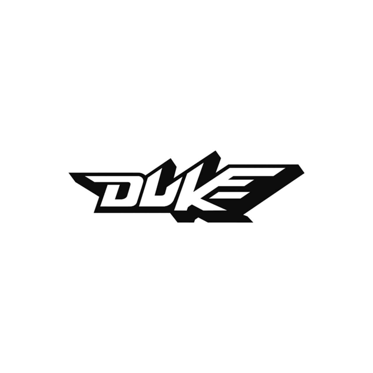 Ktm duke logo vinyl decal ballzbeatz com