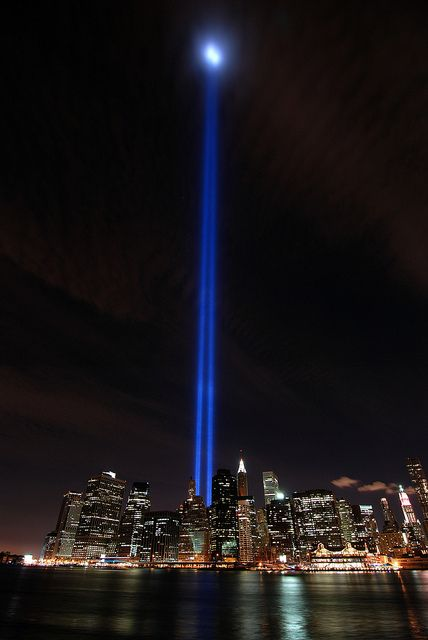 9 11 Memorial Light Beams Light Beam Airport Check In Powerful Images