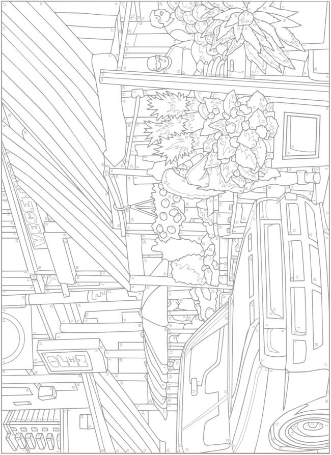 halloween therapy coloring pages - photo#44