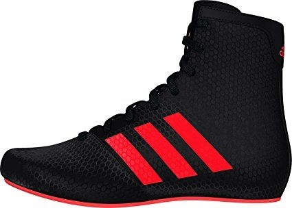22846395ea254 Adidas KO Legend 16.2 Kids Black Shoes Junior Boxing Boots (Black, 2 ...