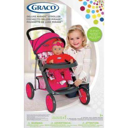 Doll Stroller $20 | Graco stroller, Stroller, Toddler toys