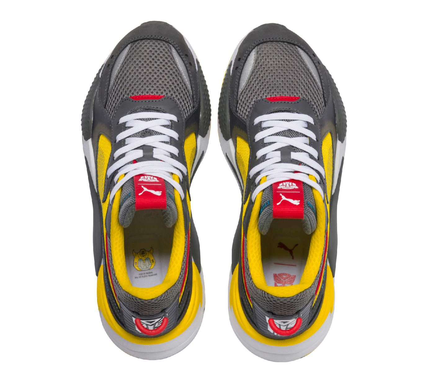1943a519540a49 Hasbro x Puma RS-X Transformers 'Bumblebee' (Top) | sneakerhead in ...