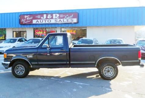 Used 1989 Ford F 150 Pickup Truck For Sale In South Dakota Cheap
