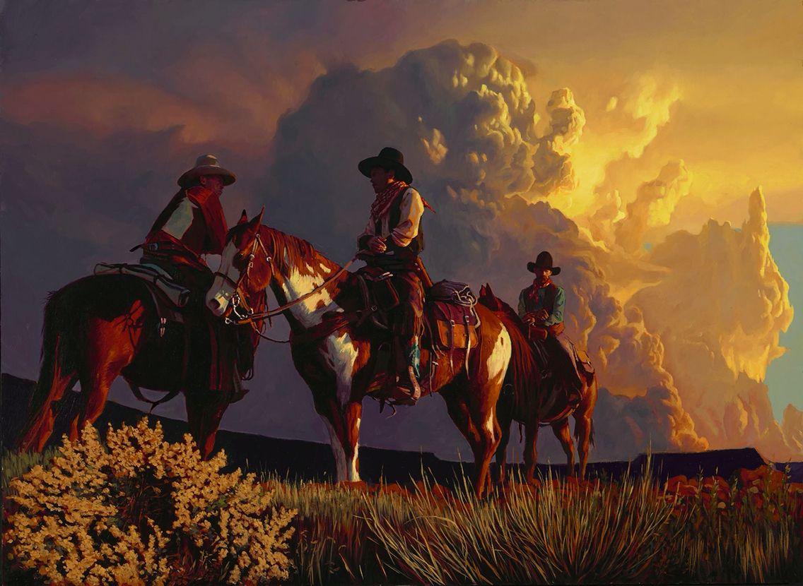 Mark Maggiori Painting Art Western