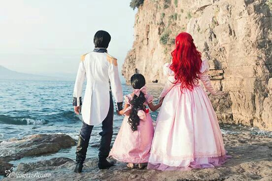 ~OMG I love this with every fiber of my being ~ <3 <3 <3 Eric, Ariel & Melody :)