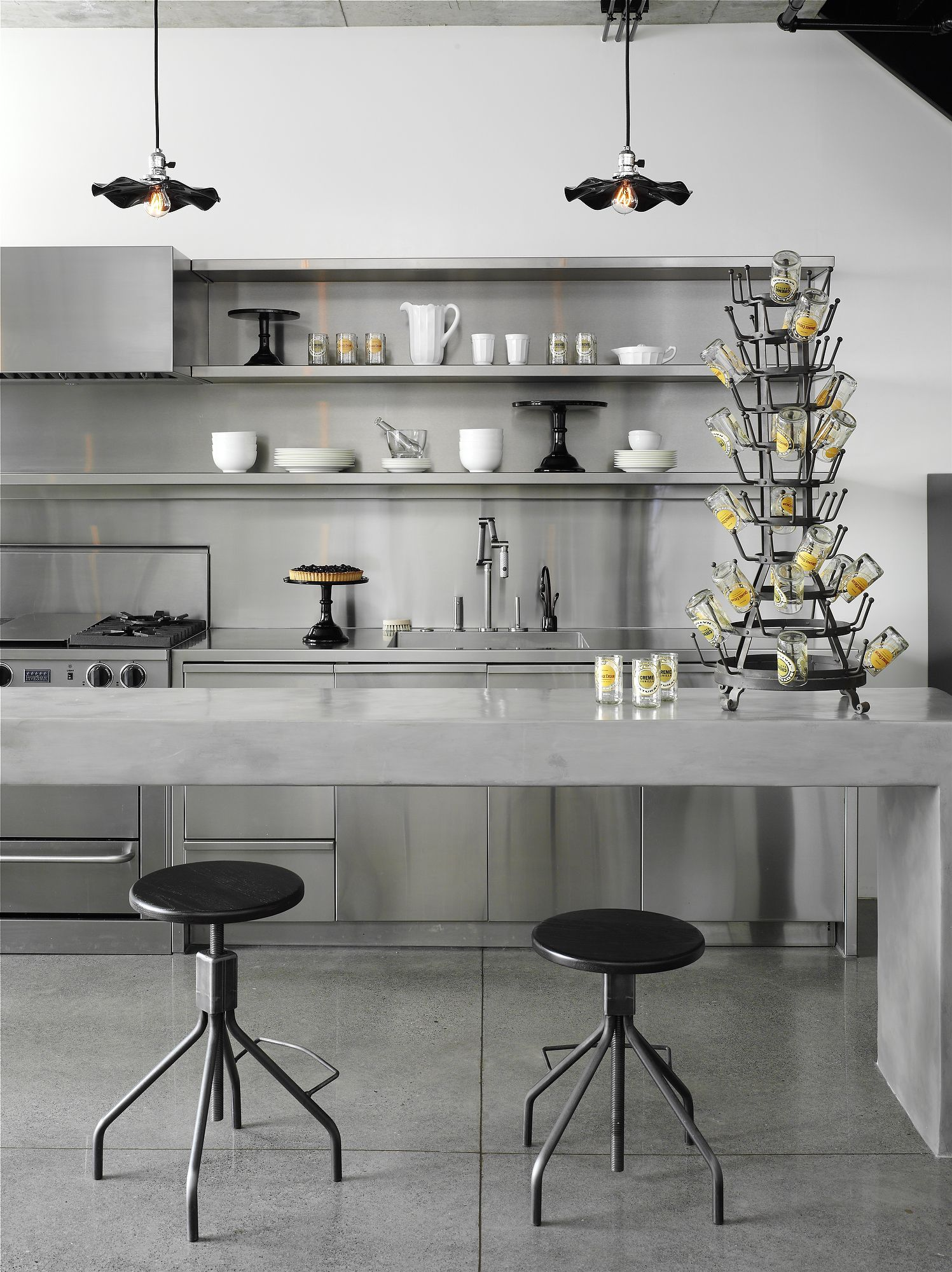 beton k che kitchen pinterest k che k che einrichten und traumk chen. Black Bedroom Furniture Sets. Home Design Ideas
