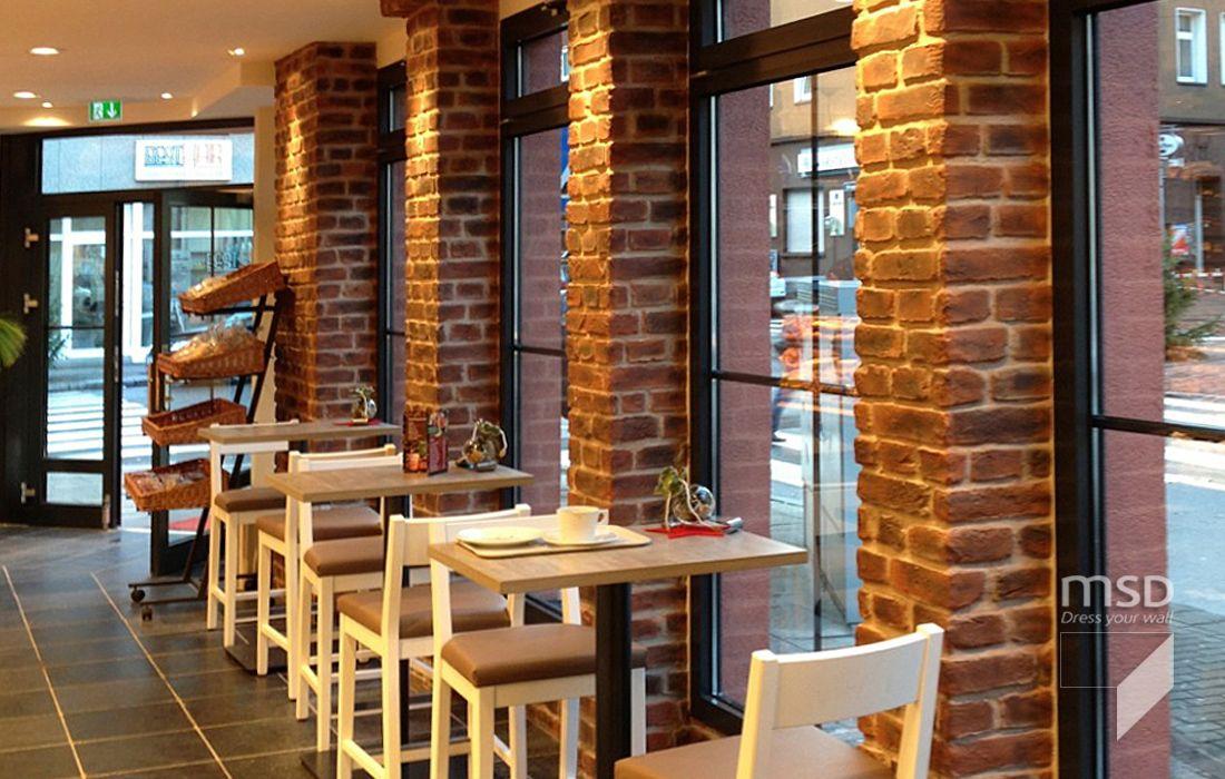 Interior Brick Columns