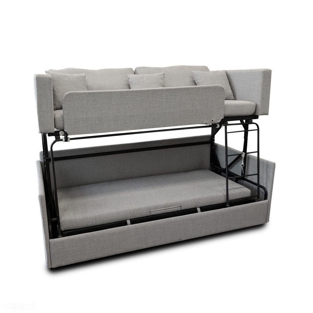 The Dormire Bunk Bed Couch Transformer Moderne Etagenbetten