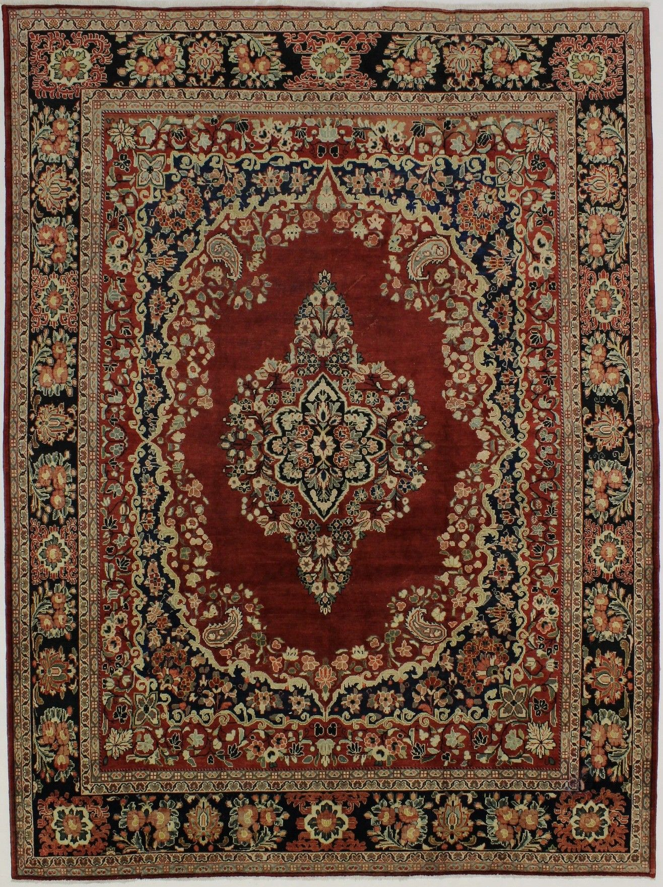 Palace Size 10 6x14 Semi Antique Mahal Persian Oriental Area Rug Carpet 11x14 Halilar