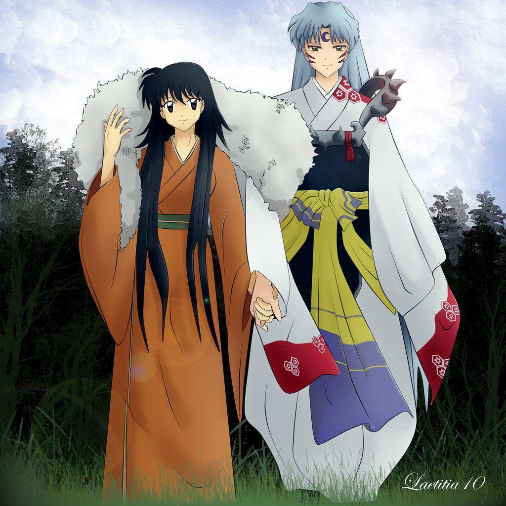 Sesshomaru and Rin by MintKim on DeviantArt Sesshomaru y