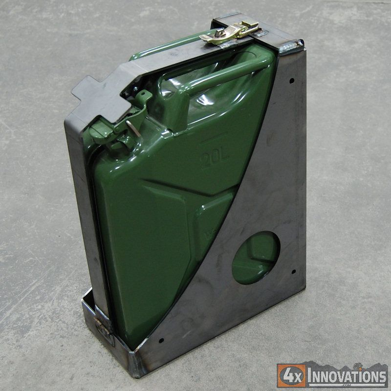 1016001 Jerry Can Mount 5 Gallon Rat Rods Truck Jerry Can Rat Rod