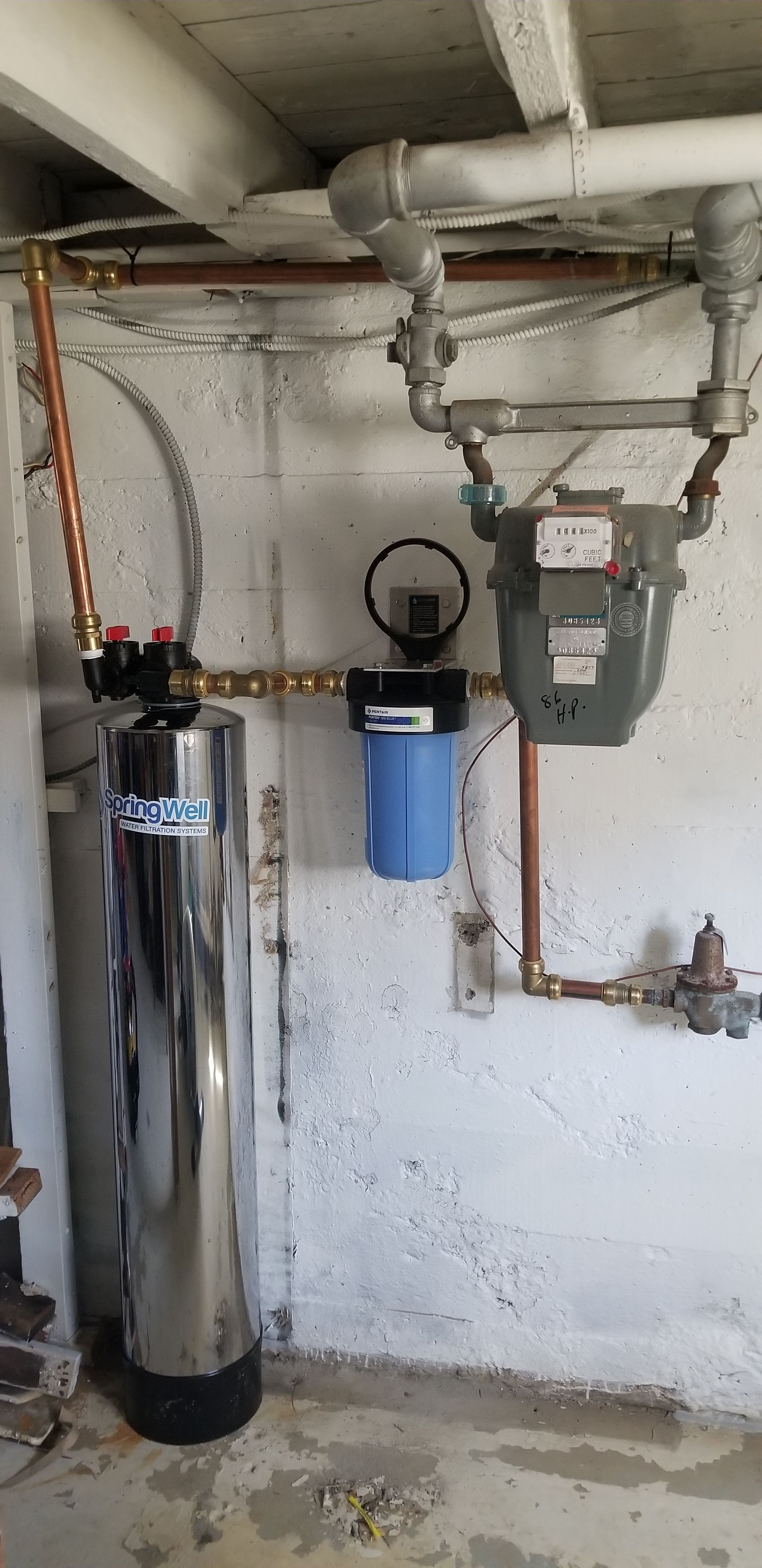 Whole House Water Filter System Springwell Water Filtration System Whole House Water Filter Water Purification System House Water Filter