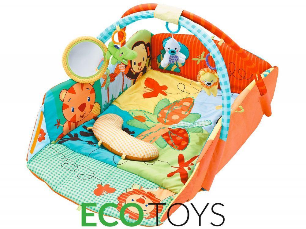 Duza Mata Edukacyjna Interaktywna Kojec Ecotoys 7219663302 Oficjalne Archiwum Allegro Baby Car Seats Play Gym Car Seats