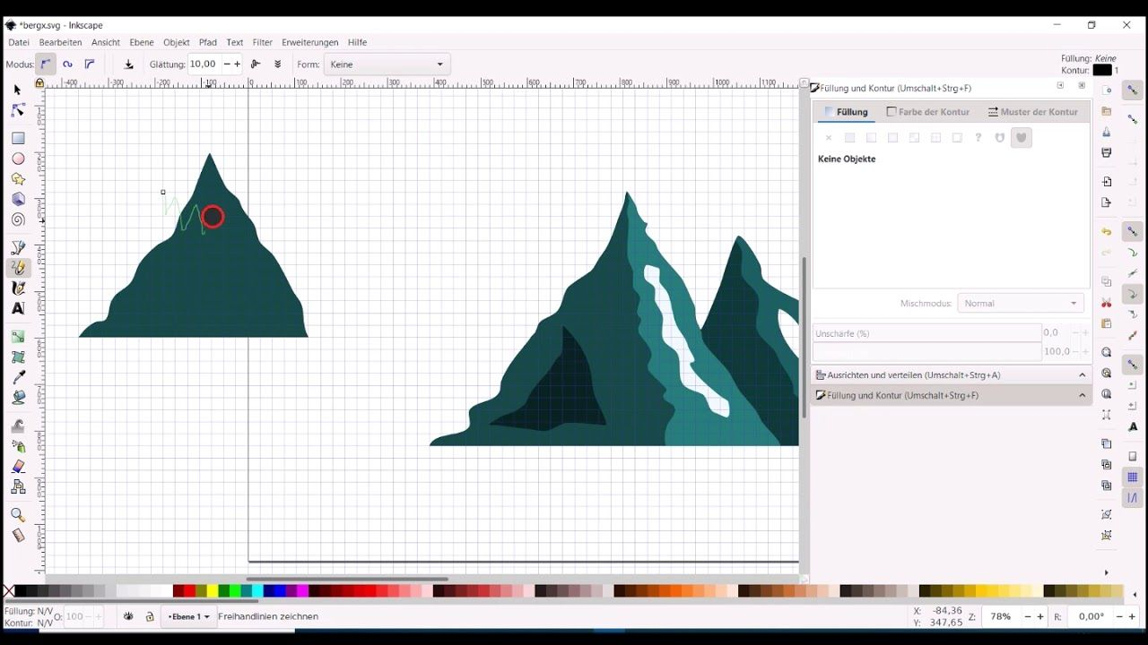 inkscape tutorial eine bergsilhouette erstellen youtube nette kommentare einfache logos silhouette fußball vektor dateiendung vektorgrafik