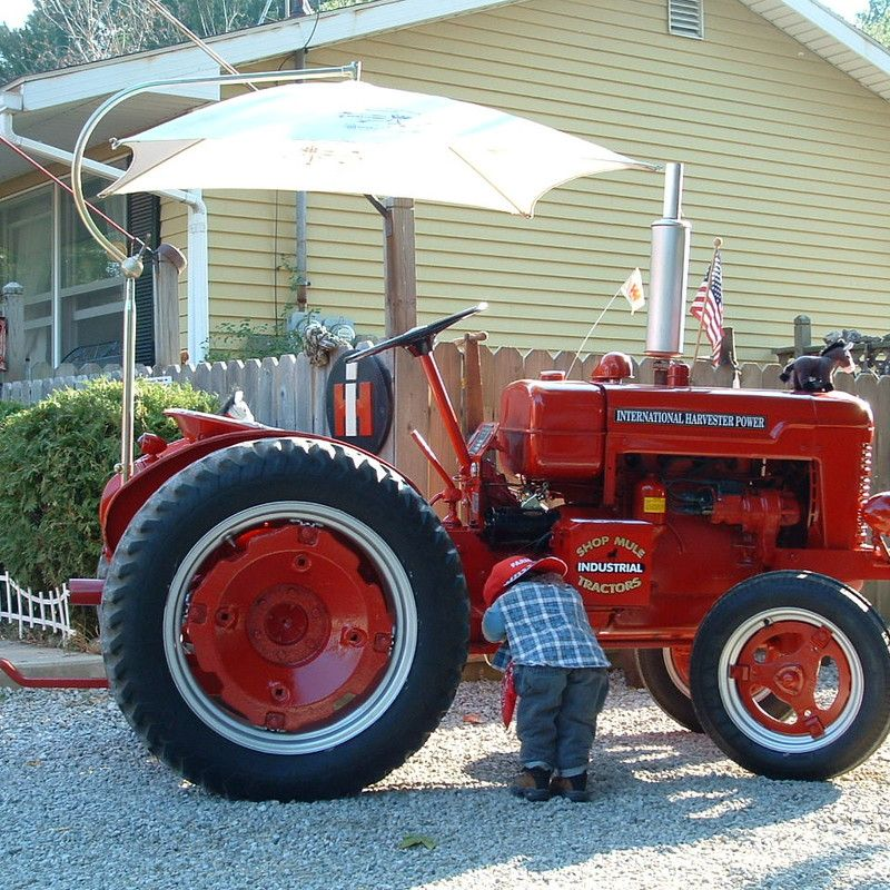 Do you think SHOP MULE deserves to win the Steiner Tractor