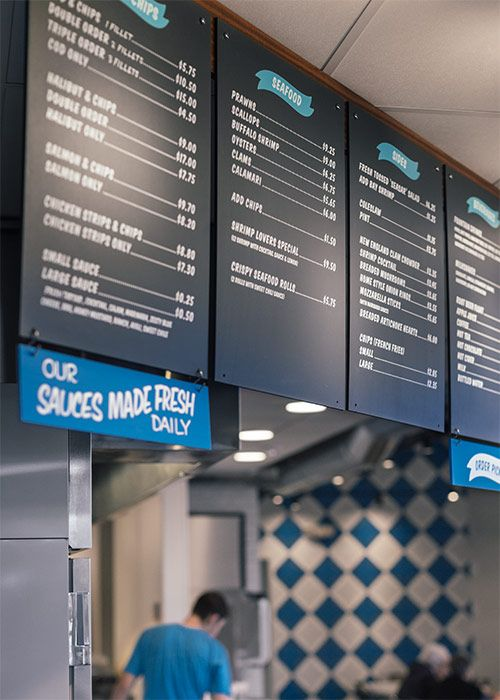 Spud Fish Chips Fish Chip Shop Fish Chips Fish Chips Menu