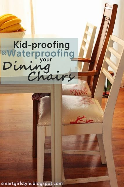 How to Waterproof Your Upholstered Dining Chairs dining room