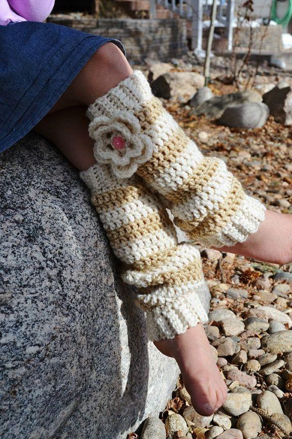 Crochet Leg Warmers, Girl\'s Legwarmers, Ready To Ship | Häkeln ...